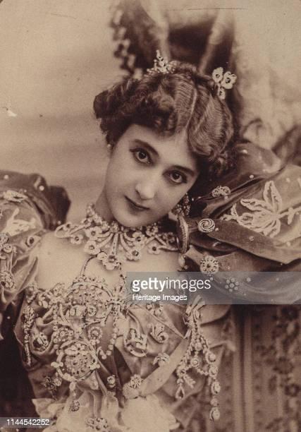 La Belle Otéro 1890s Found in the Collection of Bibliothèque Nationale de France Artist Photo studio Reutlinger Paris