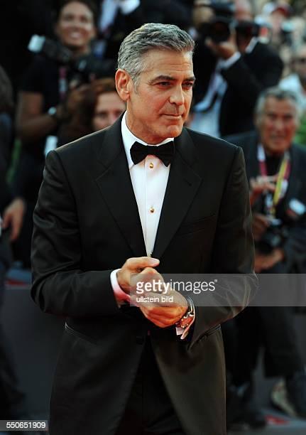 La Biennale de Venezia Italy Filmpremiere GRAVITY mit George Clooney Red Carpet in Venedig