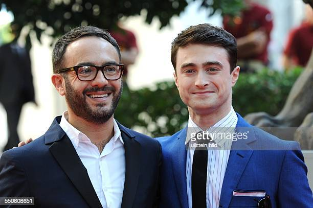 La Biennale de Venezia Italy Filmpremiere KILL YOUR DARLINGS mit Piera Detassis und Daniel Radcliffe Photocall in Venedig