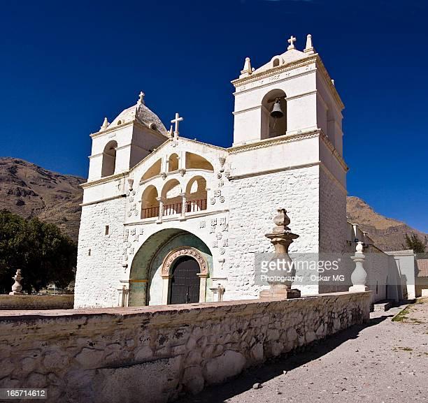 la blanca iglesia de maca - oskar stock pictures, royalty-free photos & images
