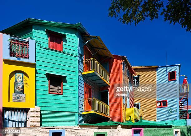 la boca-barrio de buenos aires, argentina - argentina fotografías e imágenes de stock