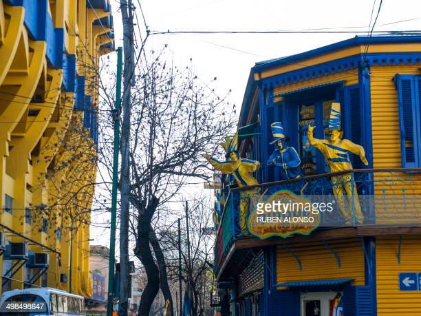 CONTENT] La Boca is a neighborhood or barrio of the Argentine capital Buenos Aires