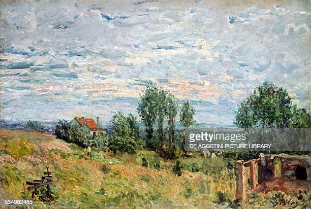 La briqueterie by Alfred Sisley oil on canvas France 19th century Otterlo Rijksmuseum KrollerMuller
