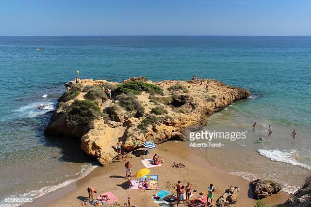 La Cala Jovera in the old medieval core Tamarit Tarragona