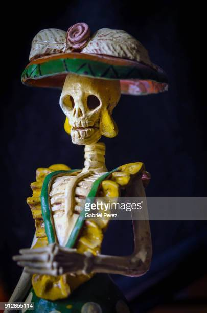 la calavera catrina - day of the dead stock pictures, royalty-free photos & images