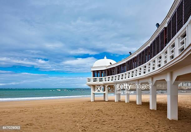la caleta beach - cádiz fotografías e imágenes de stock