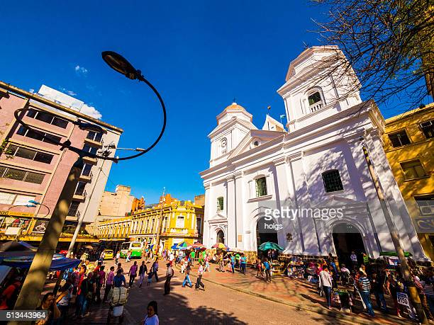 Iglesia de La Candelaria en Medellín, Colombia