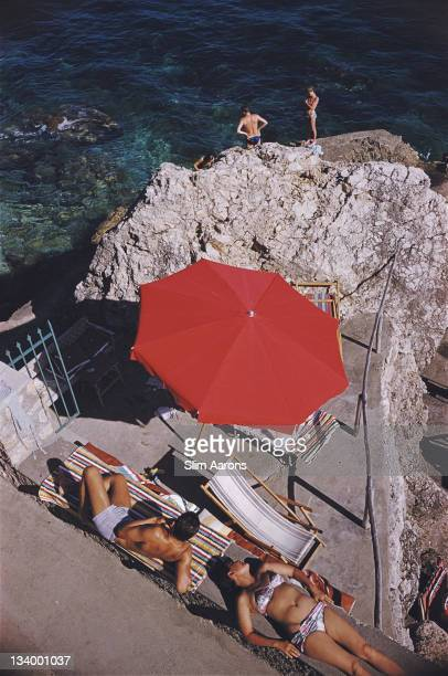 La Canzone del Mare in Capri Italy July 1958