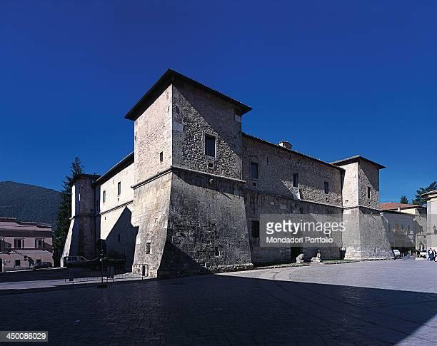La Castellina by Barozzi Jacopo known as Vignola 1554 1562 16th Century Serravalle stone sponga stone 40 x 38 m