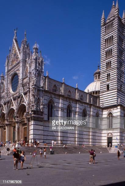 La cathédrale de Sienne en octobre 2000 Italie