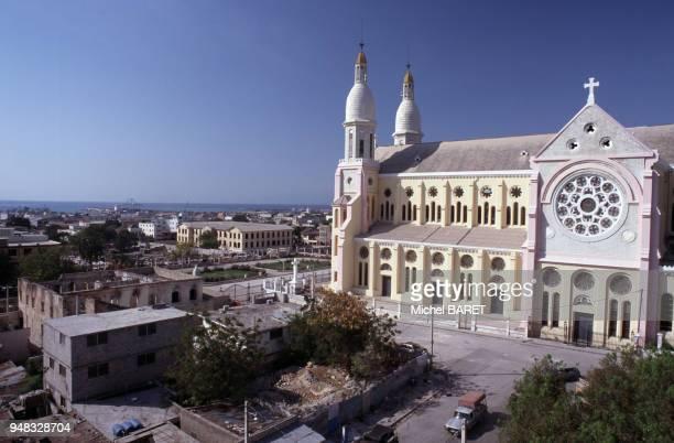 La cathédrale NotreDamedel'Assomption de PortauPrince en février 1998 Haïti