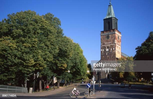 La cathedrale de Turku, Finlande.