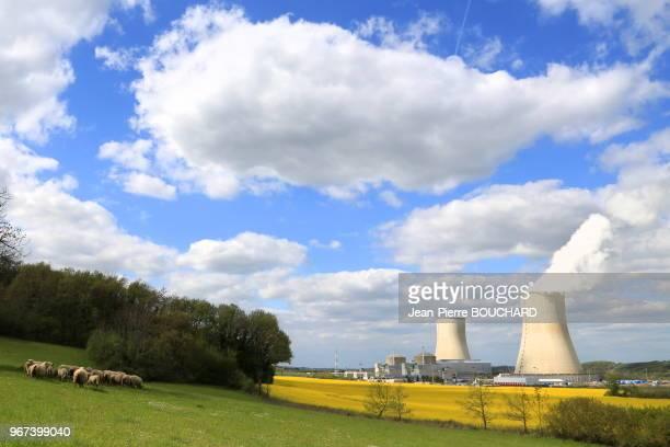 La centrale nucléaire de Civaux 25 avril 2016 vallée de la Vienne France