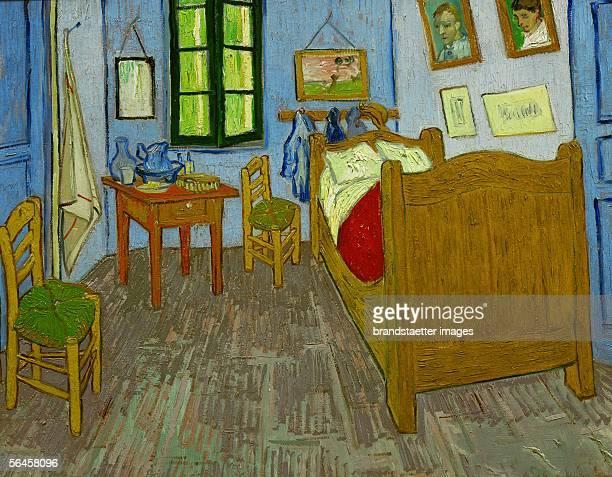 La chambre de Van Gogh a Arles Oil on canvas 575 x 74 cm Gemaelde von Vincent Van Gogh [La chambre de Van Gogh a Arles Gemaelde 1889]