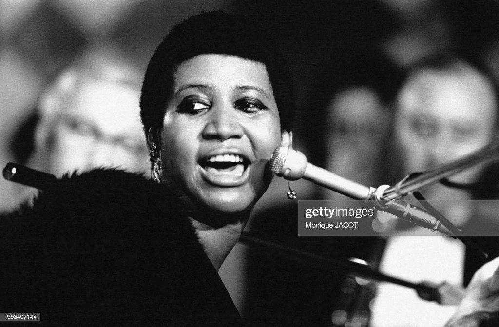 Aretha Franklin sur scène : News Photo