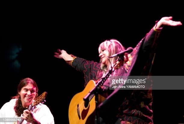 "La chanteuse américaine Melanie Safka lors du ""Ozark Folk Festival"" le 9 novembre 2008 à Eureka Springs, Arkansas, Etats-Unis."