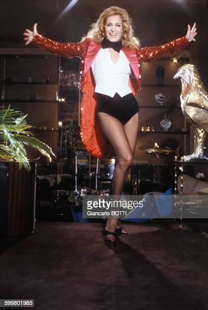 La chanteuse Dalida dans les années 1970 en France
