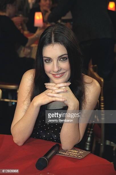 La chanteuse Eve Angeli.