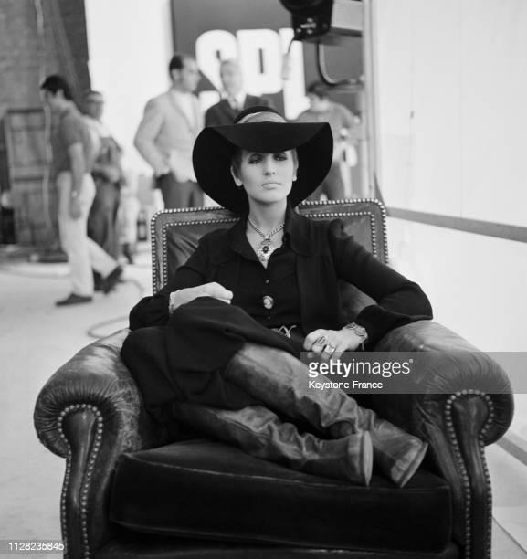 La chanteuse Julie Driscoll en France le 23 septembre 1968