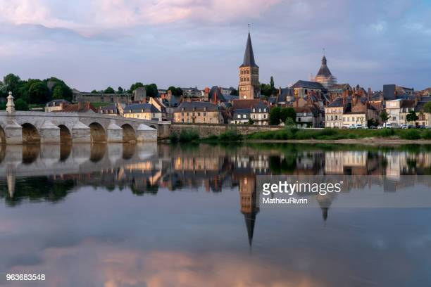 La charité sur Loire, beautiful village in Bourgogne at the edge of the Loire