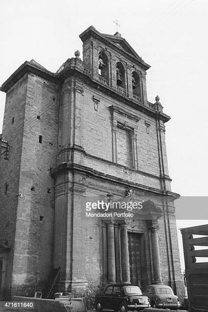 La Chiesa di San Pietro in Agrigento Sicily Italy December 1956