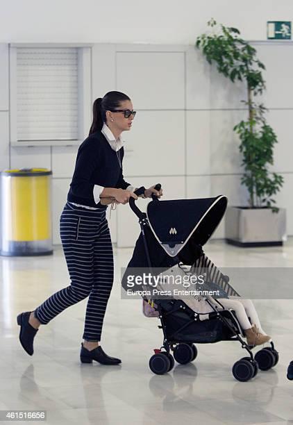 'La China' Suarez and her daughter Rufina Cabre are seen on December 18 2014 in Almeria Spain