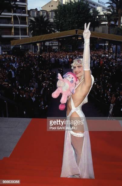 La Cicciolina lors du Festival de Cannes en mai 1988 France