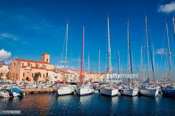 La Ciotat harbour, Cote d'Azur, Bouches-du-Rhone, Provence, France, Europe.