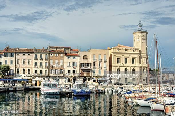la ciotat port, france, the mediterranean sea - bouches du rhone stock pictures, royalty-free photos & images