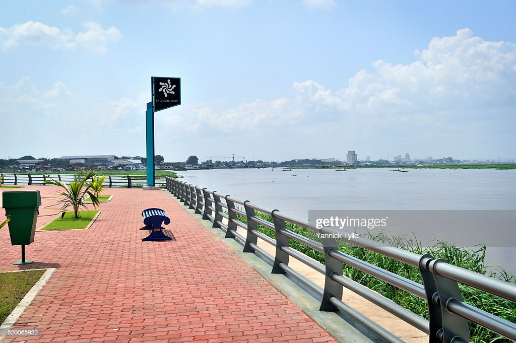 La Cité du Fleuve - Building the future of Kinshasa : Stock Photo