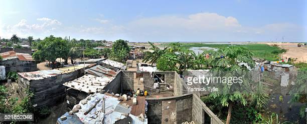 la cité du fleuve - building the future of kinshasa - kinshasa stock-fotos und bilder