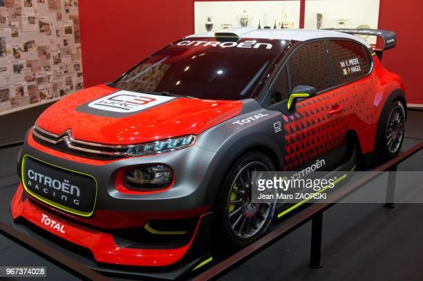 La Citroën C3 WRC qui sera engagée dans le championnat du monde des rallyes WRC 2017 pour tenter de permettre à Citroën de renouer avec les succès...