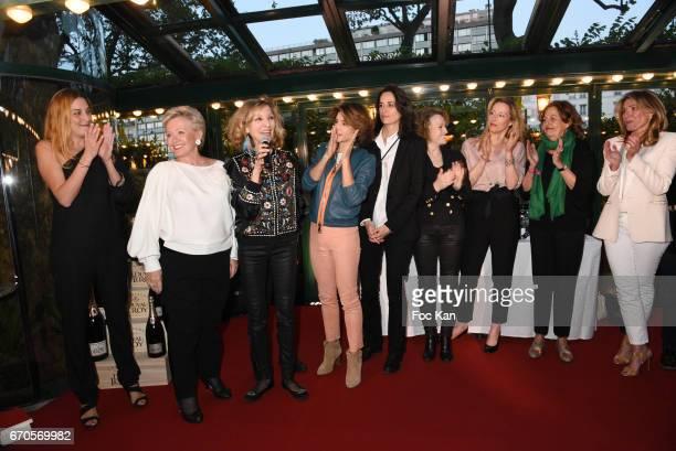 La Closerie des Lilas 2017 Jury Members Colette Siljegovic La Closerie des Lilas Awards president Emmanuelle de Boysson La Closerie des Lilas vice...
