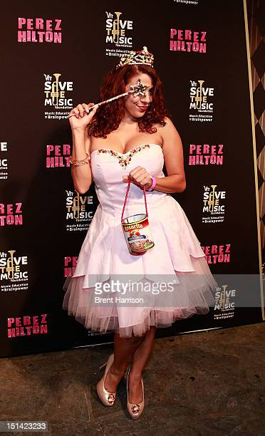La Coacha attends Perez Hilton's One Night In Los Angeles at The Belasco Theater on September 6 2012 in Los Angeles California