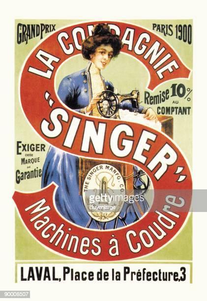 La Compagnie Singer Grand Prix 1900