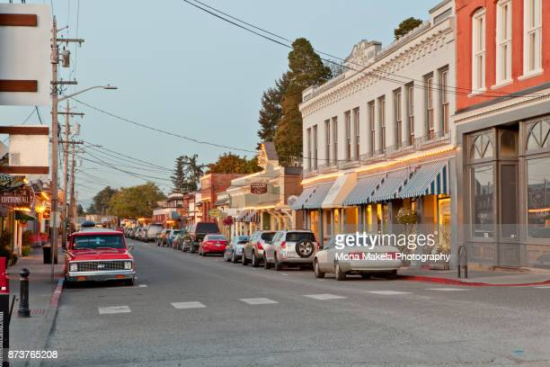 la conner, skagit county, washington - historic district stock pictures, royalty-free photos & images