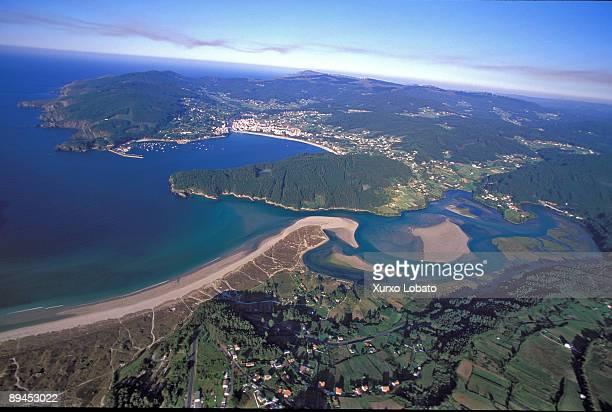 La Coruna Galicia Rias altas Ria de Cedeira