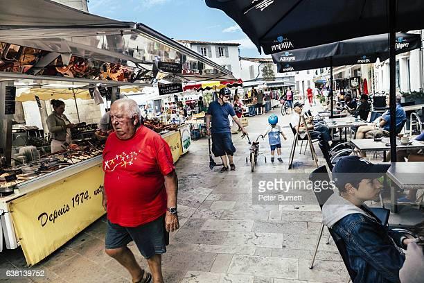 la couarde sur mer, ile de re, france - ile de france - fotografias e filmes do acervo