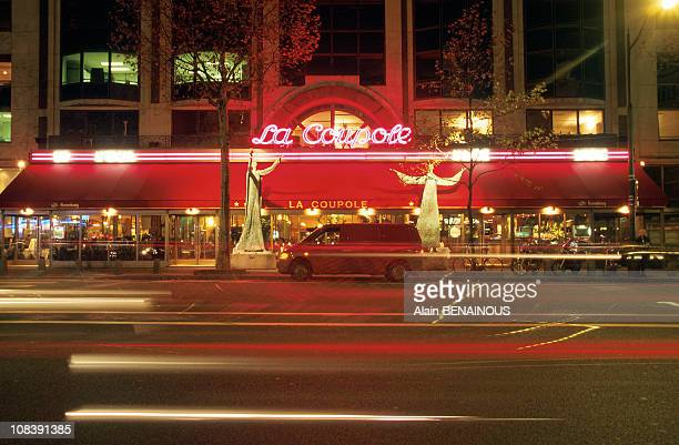 La Coupole Celebrates The seventieth anniversary in Paris France on October 01 1997