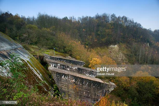 CONTENT] La Coupole the Nazi bunker built to launch V2 Rockets at the UK in WWII Near St Omer Pas de Calais France The concrete protective dome is on...