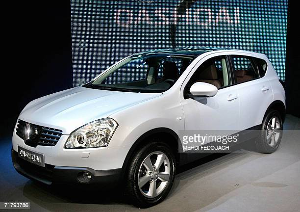 A picture taken 06 September 2006 in La Courneuve outside Paris shows Qashqai crossover the new compact Nissan vehicle The Qashqai is a compact...