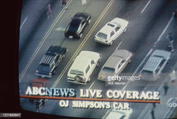 La course poursuite d'OJ Simpson filmée par la télévision