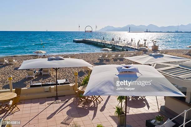 La Croisette Beach, Cannes, Cote D'Azur, France