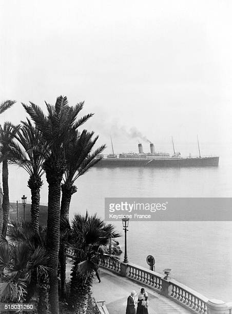 La Croisette in Cannes France in April 1928