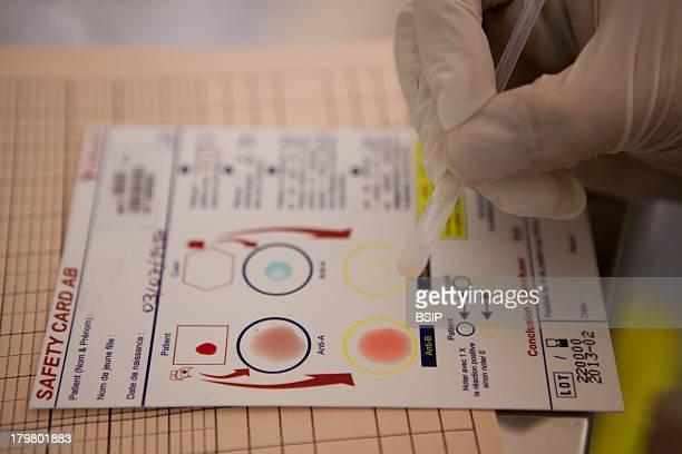 La Croix SaintSimon Hospital Paris France Postoperative blood transfusion Lastminute blood type test
