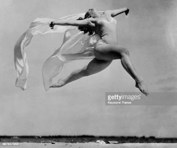 La danseuse et actrice Sally Rand aux EtatsUnis le 27 février 1936