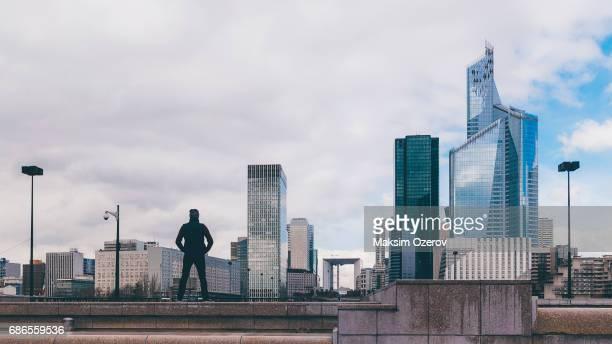 La Defence financial district in Paris, France