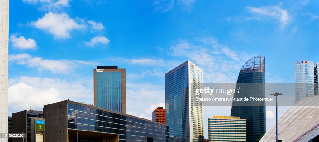 La Defense, buildings : Stock Photo
