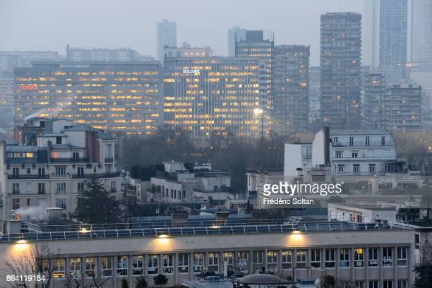 'La Defense' business district in Paris 'La Défense' is a major business district of the Paris Metropolitan located in the commune of Courbevoie and...