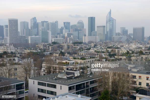 La Defense business district in Paris La Défense is a major business district of the Paris Metropolitan Area and of the ÎledeFrance region located in...